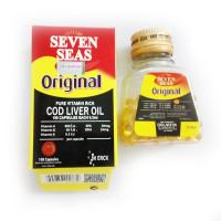 SevenSeas original Cod Liver Oil