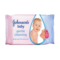 Johnson's Baby Gentle Cleansing Wipes-UK/Turkey