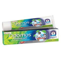 Odomos Naturals Non-Sticky Mosquito Repellent Cream - 50g, India