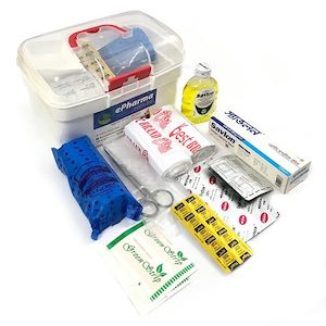 Family First Aid Box (White small)