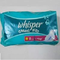 whisper  Maxi Fit 8 pcs.